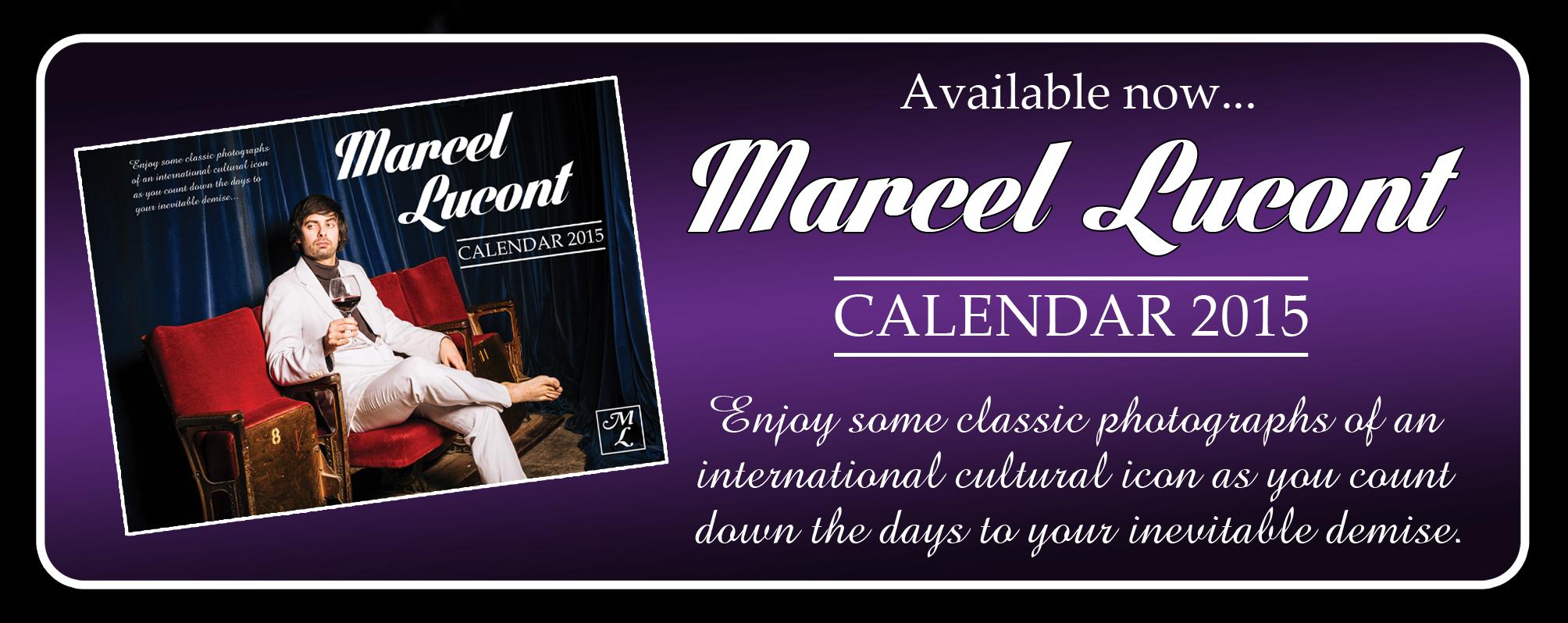 Calendar website banner